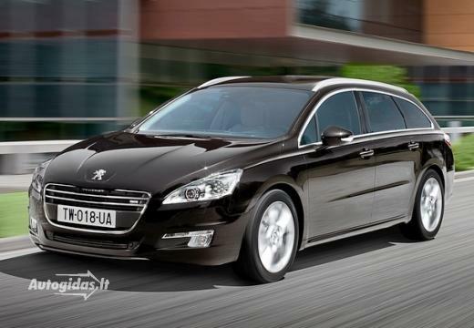 Peugeot 508 2011-2012