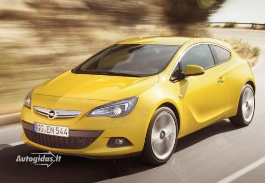 Opel Astra 2011-2013