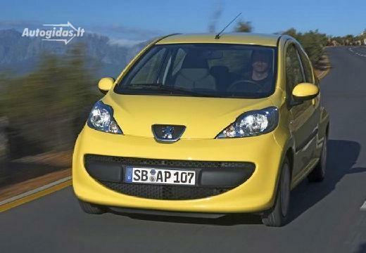 Peugeot 107 2007-2008