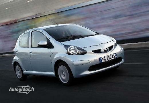 Toyota Aygo 2008-2009