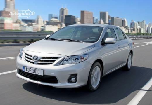 Toyota Corolla 2010-2011