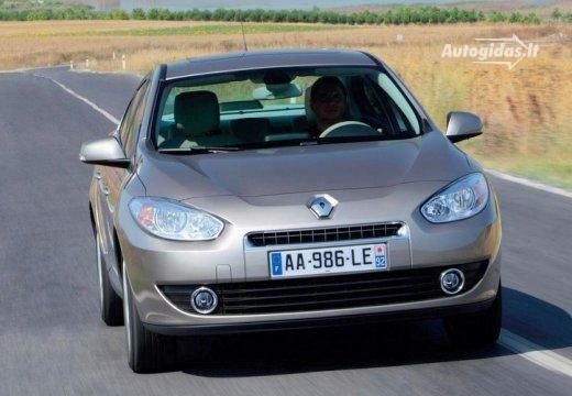 Renault Fluence 2010-2012