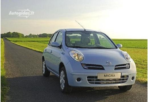 Nissan Micra 2007-2010