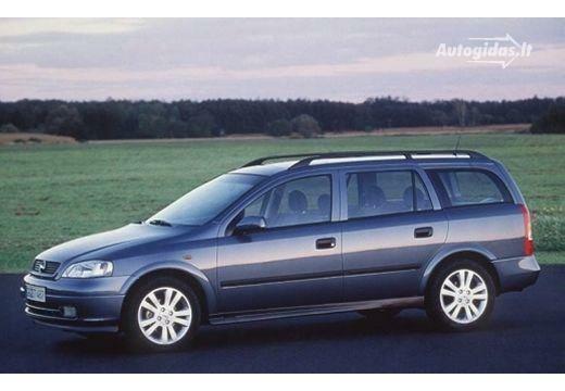Opel Astra 1999-2002