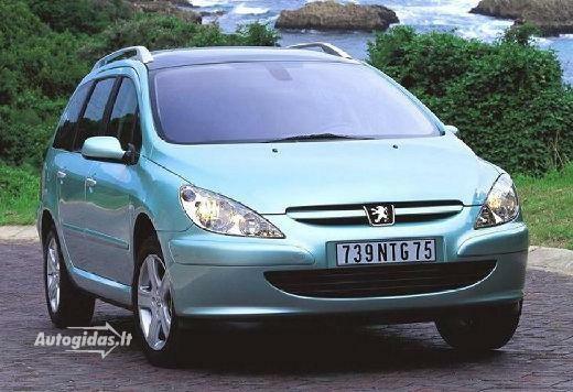 Peugeot 307 2004-2005