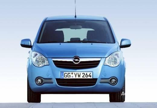 Opel Agila 2008-2011