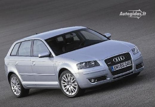 Audi A3 Sportback 1.9 TDI Attraction specifications. Audi A3 2005-2006 36d96358ca8