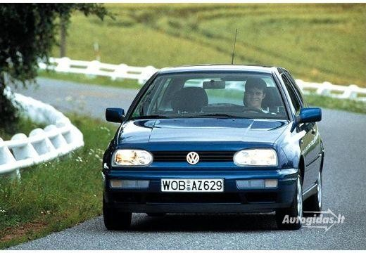 Volkswagen Golf 1996-1997