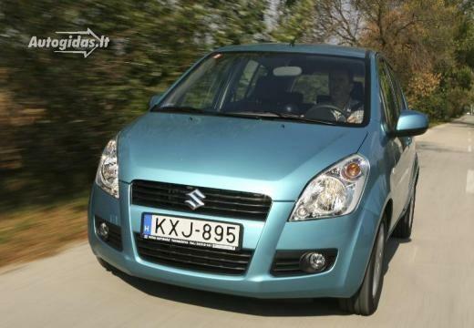 Suzuki Splash 2011-2012