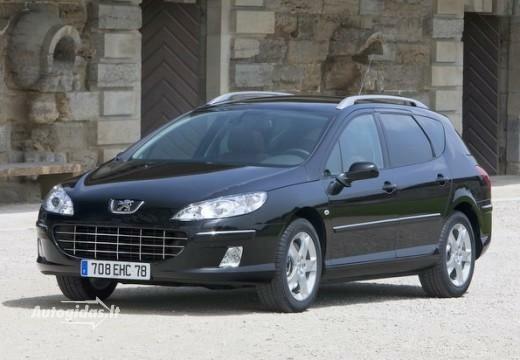 Peugeot 407 2010-2011