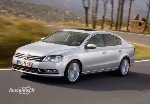Volkswagen Passat 2010-2012