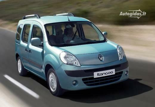 Renault Kangoo 2010-2011