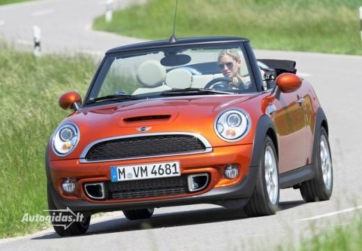 Mini Cabrio Cabrio Mini Cooper D Aut 2011 Autocatalog