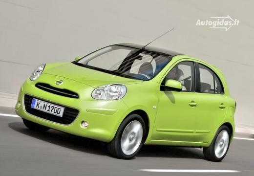 Nissan Micra 2011-2012