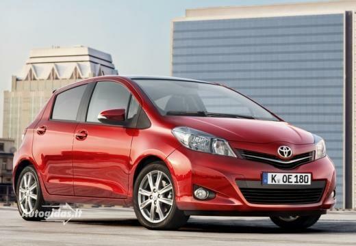 Toyota Yaris 2011-2013