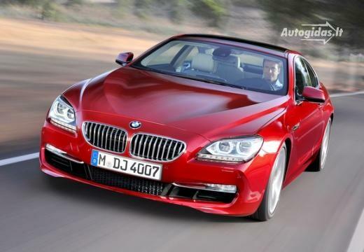 BMW 640 2011-2017