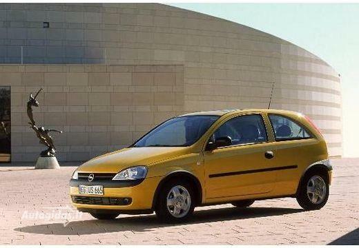 Opel Corsa 2002-2003