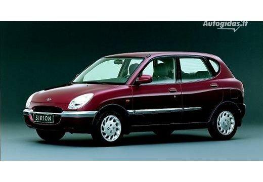 Daihatsu Sirion 2000-2001