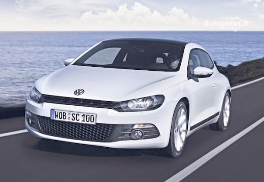 Volkswagen Scirocco 2009-2012