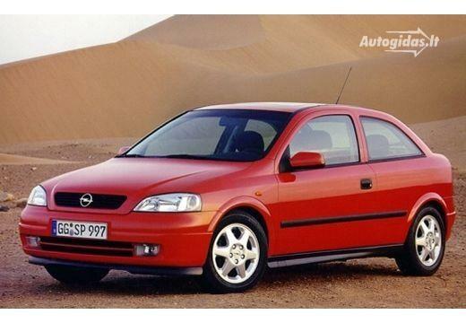 Opel Astra 1999-2001