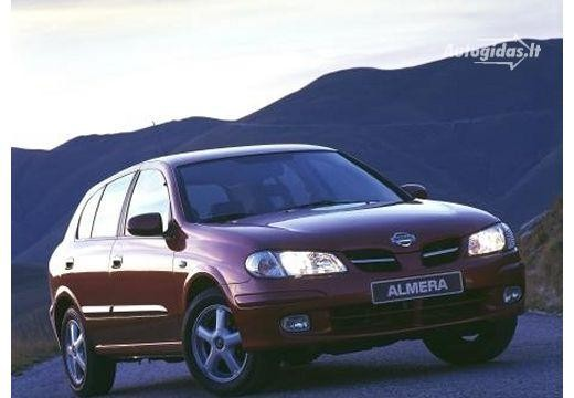 nissan almera n16 ii 2.2 di comfort 2000-2002 | auto katalogas