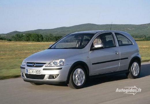 Opel Corsa 2003-2006