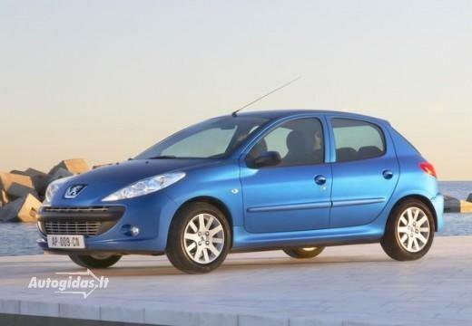 Peugeot 206+ 2009-2011