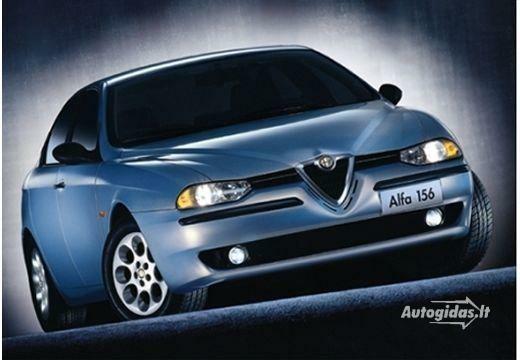Alfa Romeo 156 2000-2001