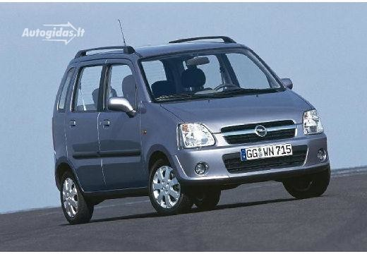Opel Agila 2003-2008