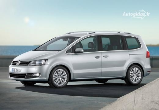 Volkswagen Sharan 2011-2012