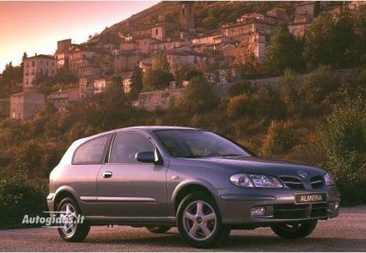 nissan almera n16 ii 2.2 di 2000-2002 | auto katalogas | autogidas.lt