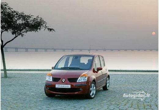 Renault Modus 2007-2008