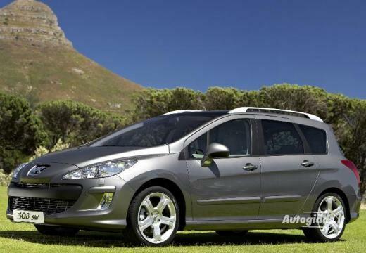 Peugeot 308 2008-2010
