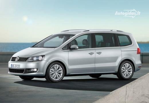 Volkswagen Sharan 2010-2012