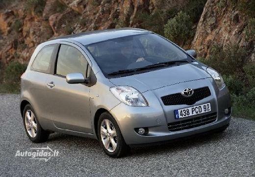 Toyota Yaris 2007-2008