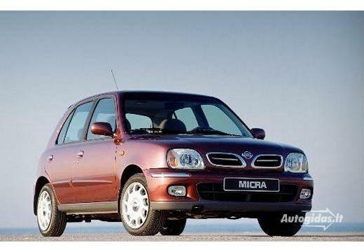 Nissan Micra 2000-2002