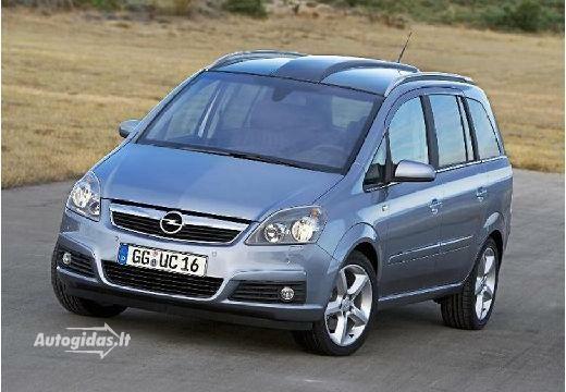 Opel Zafira 2005-2007