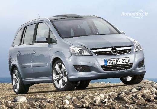 Opel Zafira 2008-2009