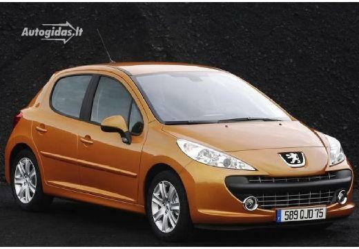 Peugeot 207 2008-2009