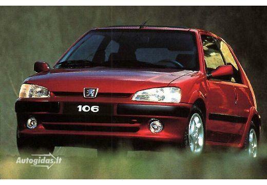 Peugeot 106 1996-1997