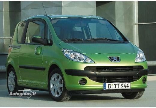 Peugeot 1007 2005-2006