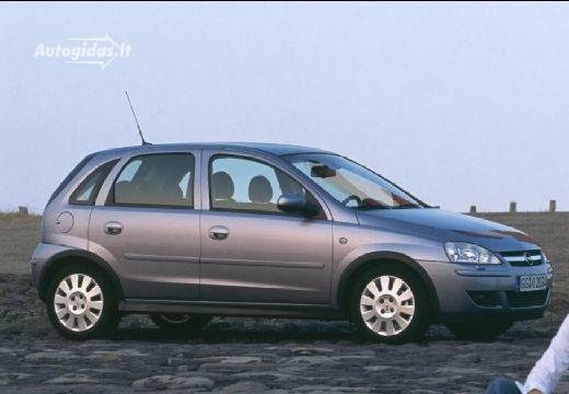 Opel Corsa 2003-2004