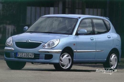 Daihatsu Sirion 2002-2003