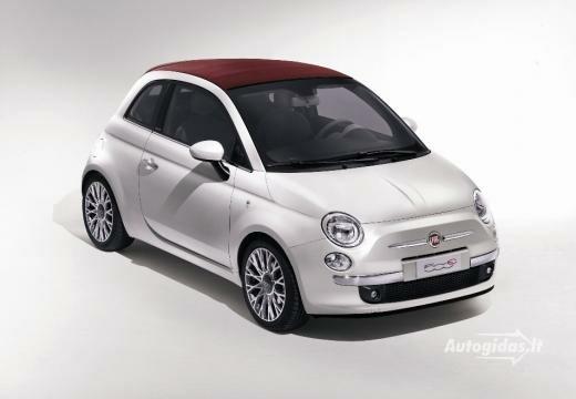Fiat 500 2010-2011