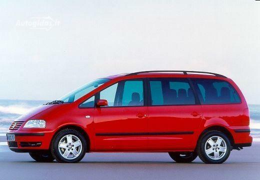 Volkswagen Sharan 2002-2003
