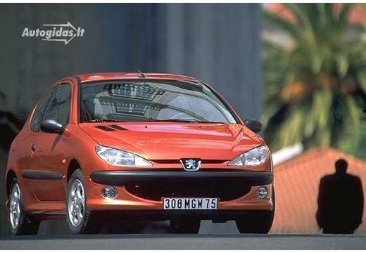 Peugeot 206 2003-2004