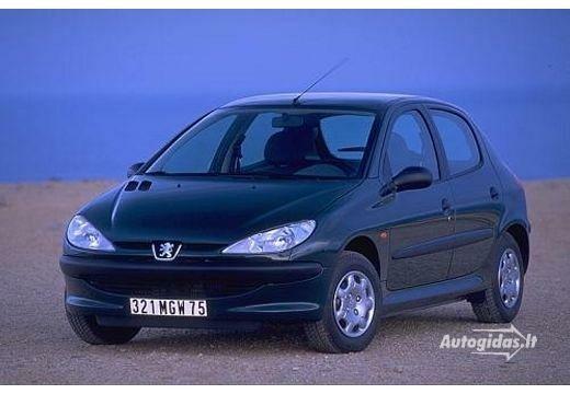 Peugeot 206 2007-2008