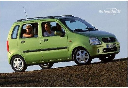 Opel Agila 2001-2003