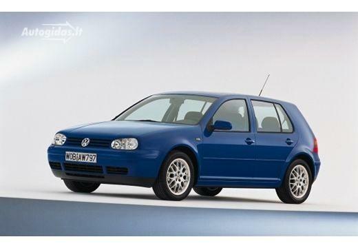 Volkswagen Golf 2001-2003