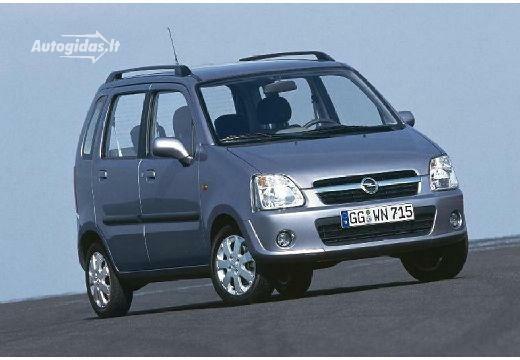 Opel Agila 2003-2004